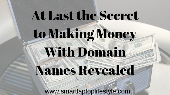 Making money with domain names