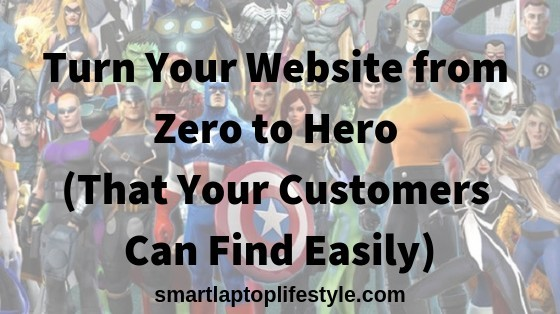 Turn your website from zero to hero